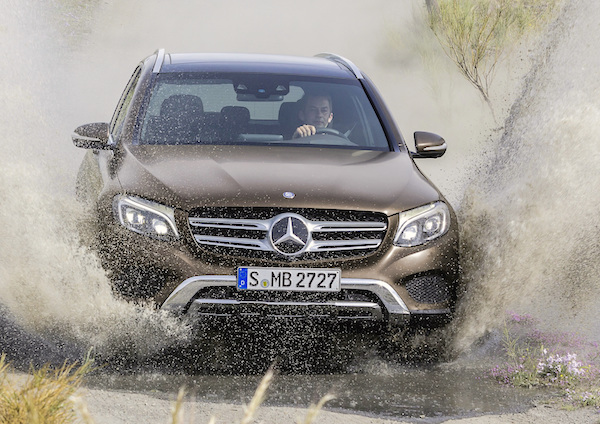 Mercedes GLC Norway September 2015