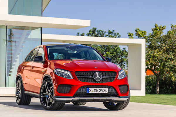 Mercedes GLE Malaysia August 2015