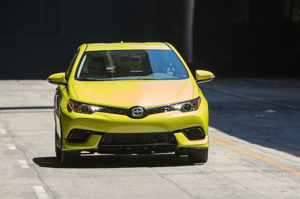 Scion iM Canada September 2015. Picture courtesy motortrend.com