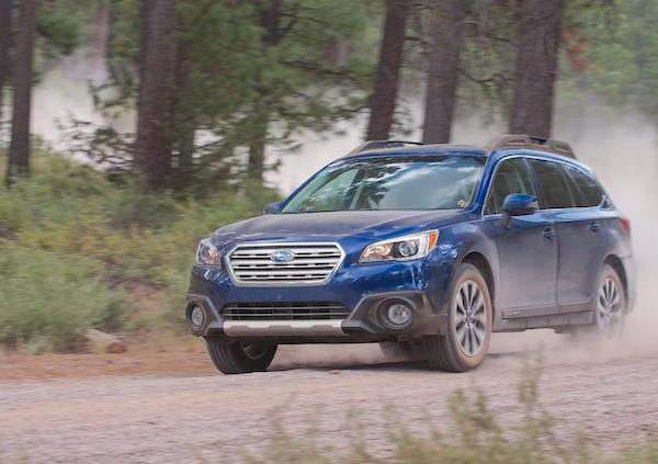 Subaru Outback USA September 2015. Picture courtesy caranddriver.com