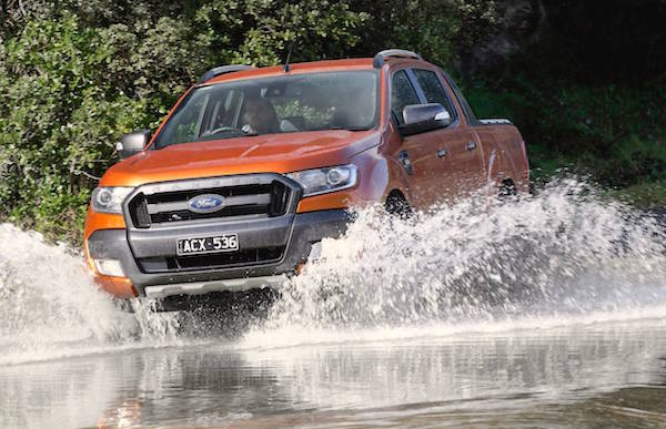 Ford Ranger New Caledonia 2015. Picture courtesy performancedrive.com.au