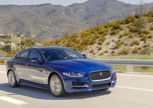 Jaguar XE South Korea October 2015. Picture courtesy autocar.co.uk
