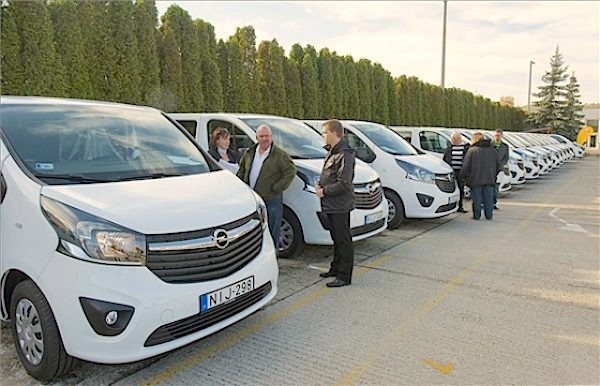 Opel Vivaro Hungary October 2015. Picture courtesy autopro.hu