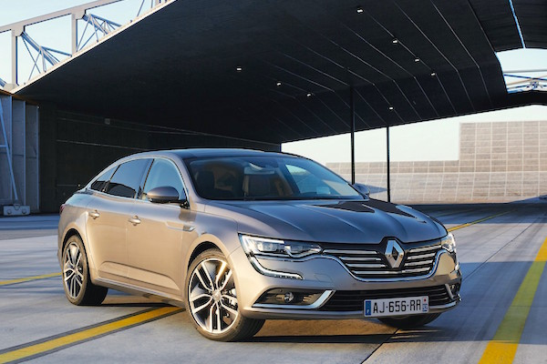 Renault Talisman France October 2015