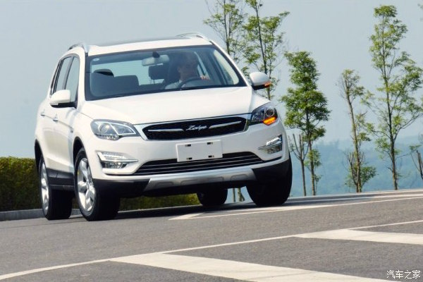 Zotye X5 China September 2015. Picture courtesy autohome.com.cn