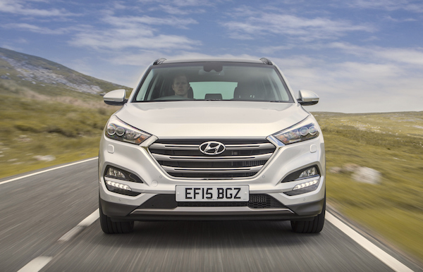 Hyundai Tucson UK June 2016
