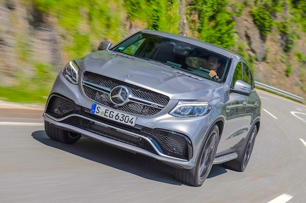 Mercedes GLE Romania April 2016