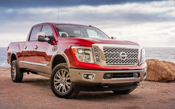 Nissan Titan XD USA December 2015. Picture courtesy caranddriver.com
