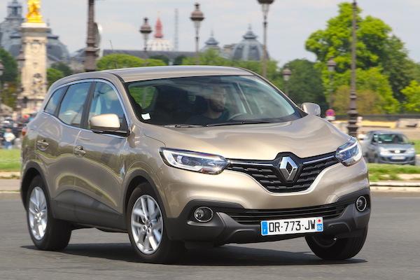 Renault Kadjar Europe October 2015. Picture courtesy largus.fr