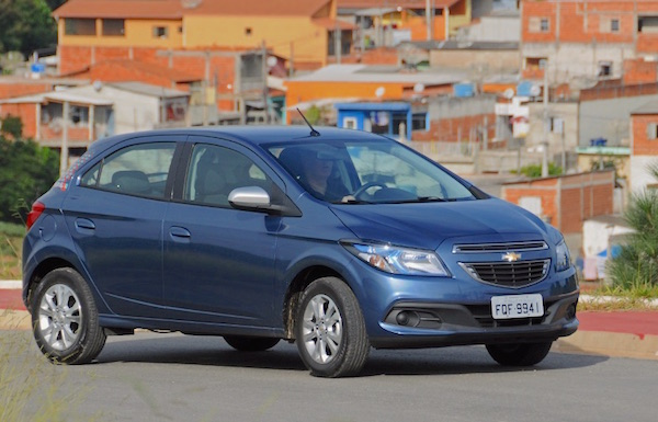 Chevrolet Onix Brazil 2015. Picture courtesy uol.com.br