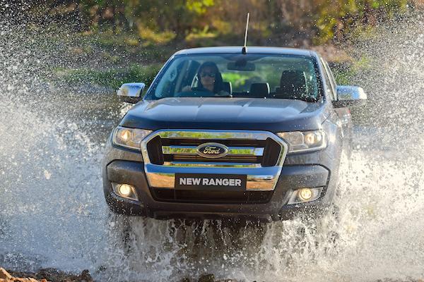 Ford Ranger New Zealand 2015