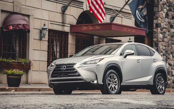 Lexus NX USA December 2015. Picture courtesy caranddriver.com