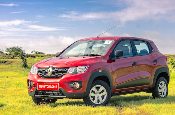 Renault Kwid India May 2016. Picture courtesy motorbeam.com