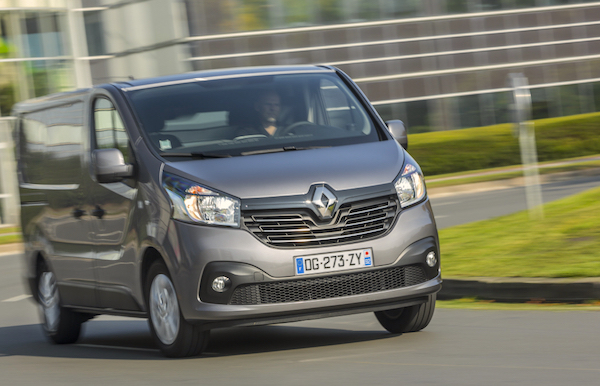 Renault Trafic France 2015. Picture courtesy largus.fr