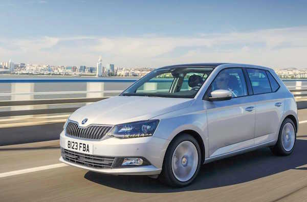 Skoda Fabia Europe February 2016. Picture carkeys.co.uk
