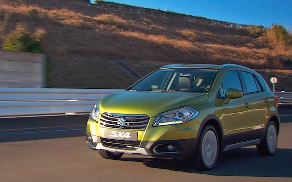 Suzuki SX4 Israel 2015. Picture courtesy cartube.co.il