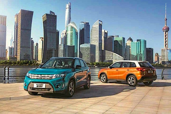 Suzuki Vitara China December 2015