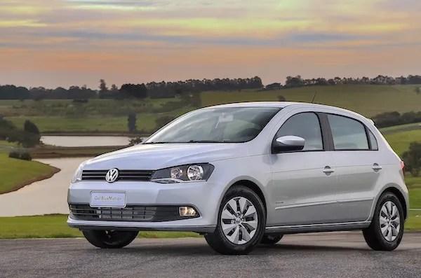 VW Gol Brazil 2015