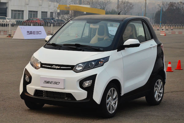Zotye E30 China December 2015