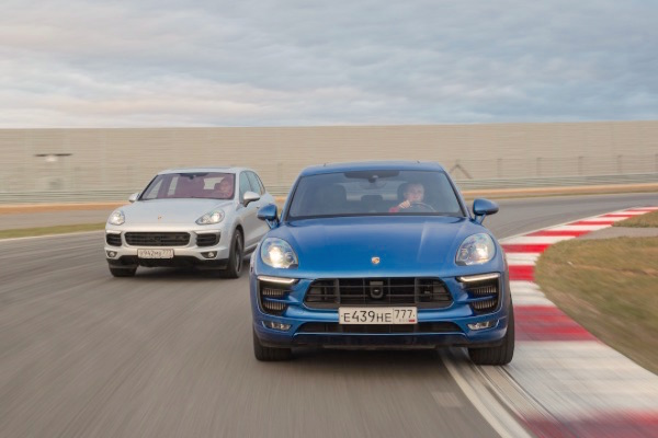 Porsche Macan Russia January 2016. Picture courtesy zr.ru