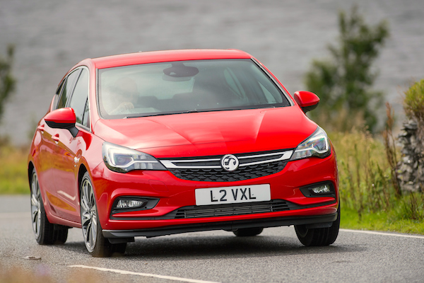 Vauxhall Astra Scotland January 2016