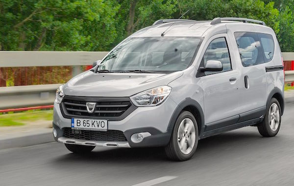 Dacia Dokker Romania January 2016. Picture courtesy autoevolution.com