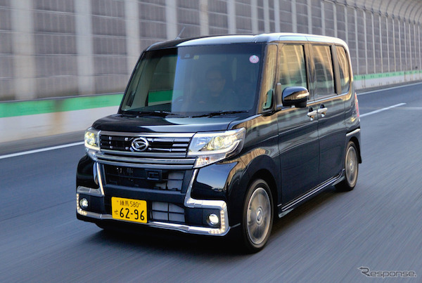 Daihatsu Tanto Japan 2015. Picture courtesy response.jp