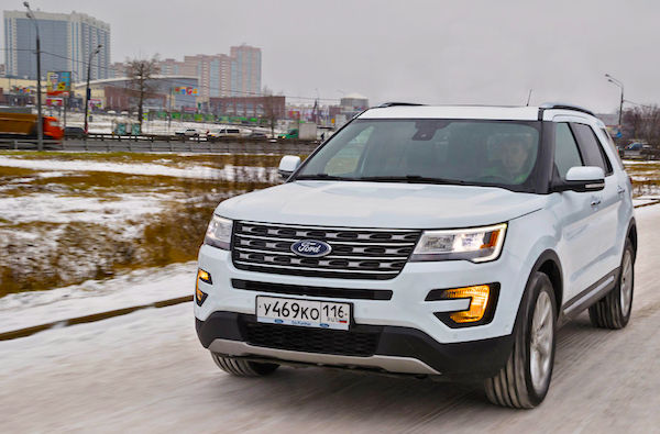 Ford Explorer Russia June 2016. Picture courtesy zr.ru