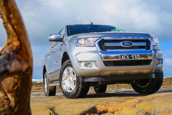 Ford Ranger Australia February 2016. Picture courtesy caradvice.com.au