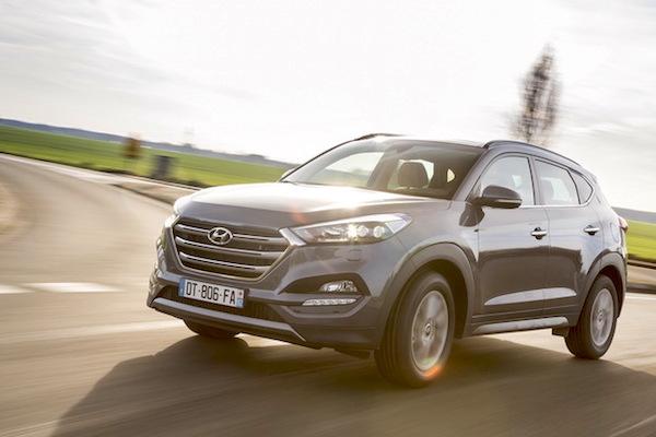Hyundai Tucson Moldova May 2016. Picture courtesy largus.fr