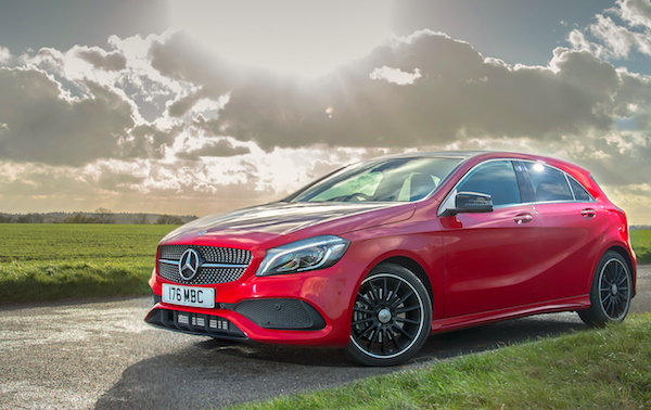 Mercedes A Class UK January 2016