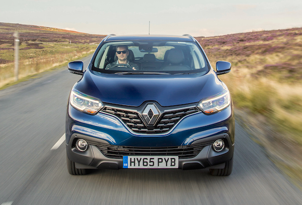 Renault Kadjar Ireland February 2016