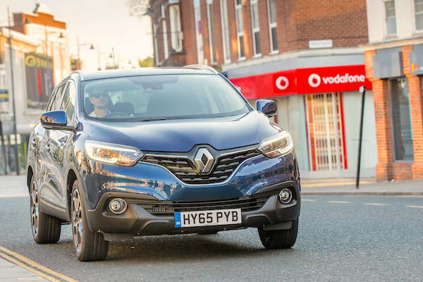 Renault Kadjar Northern Ireland February 2016