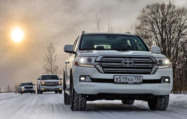 Toyota Land Cruiser Russia February 2016. Picture courtesy zr.ru