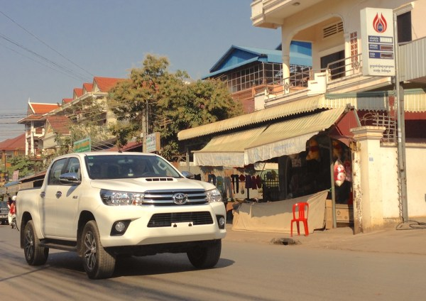 2. Toyota Hilux Siem Reap