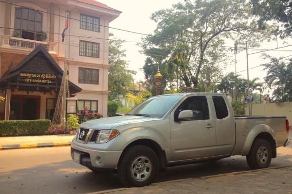 8. Nissan Frontier Siem Reap