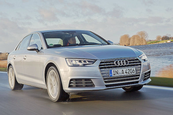 Audi A4 Germany March 2016. Picture courtesy autobild.de