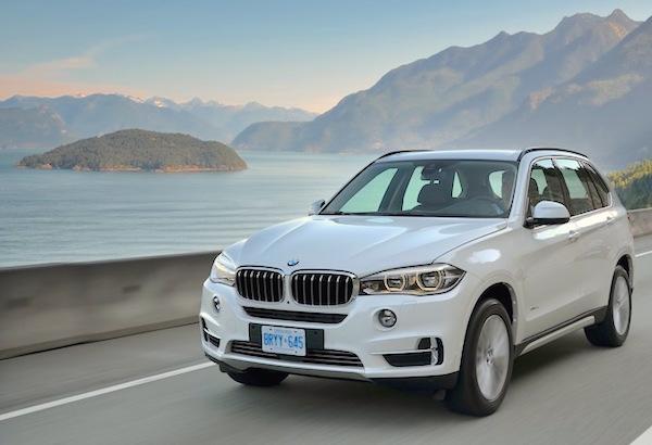 BMW X5 China 2015