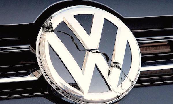 Cracked-Volkswagen-logo. Picture courtesy autotribute.com