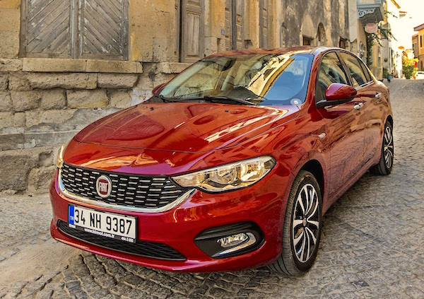 Fiat Tipo Italy March 2016