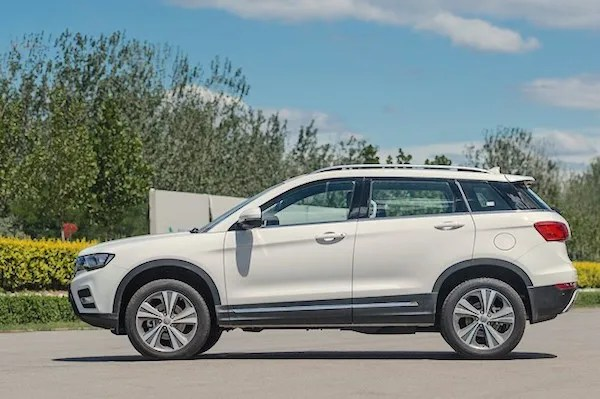 Haval H6 Coupe China March 2016. Picture courtesy autohome.com.cn