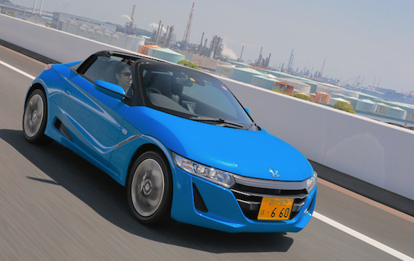 Honda S660 Japan March 2016. Picture courtesy openers.jp