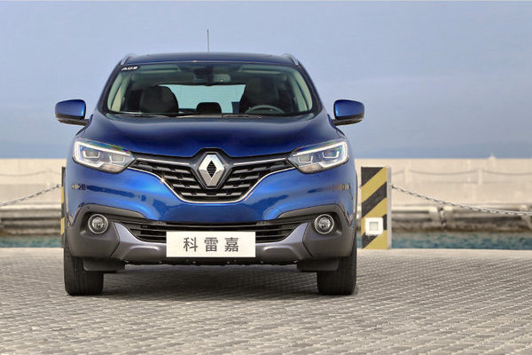 Renault Kadjar China March 2016. Picture courtesy xcar.com.cn