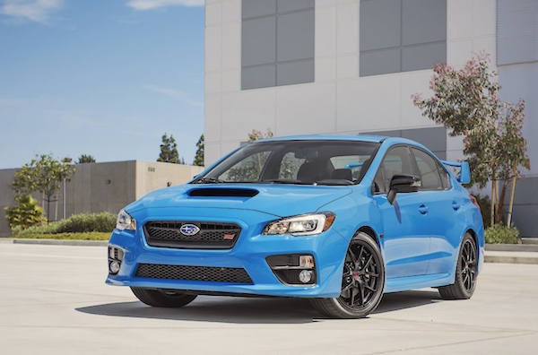 Subaru WRX USA March 2016