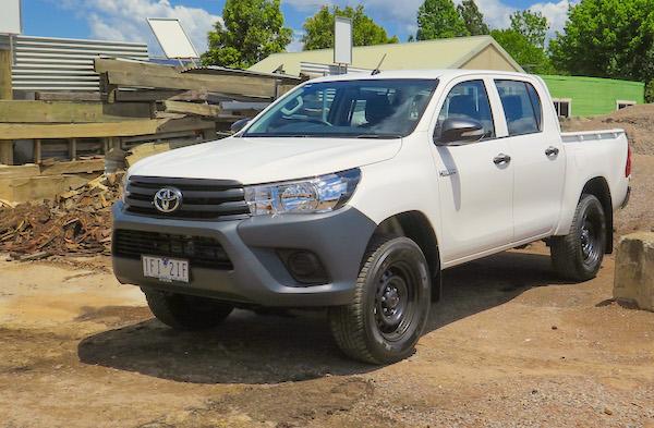Toyota Hilux Australia March 2016. Picture courtesy caradvice.com.au