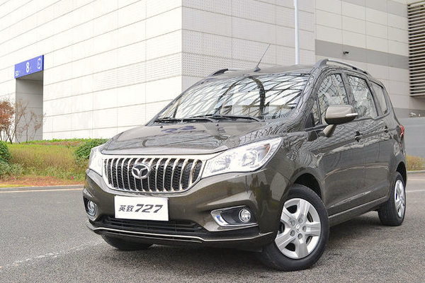 Weichai Enranger 727 China March 2016. Picture courtesy xcar.com.cn