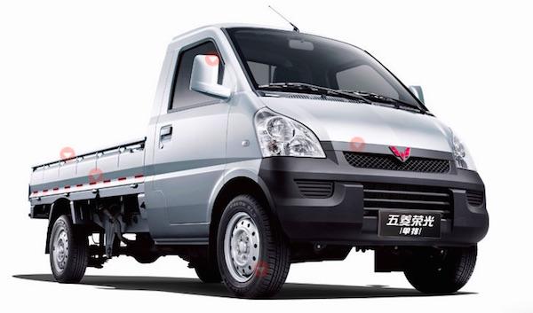 Wuling Mini Truck China May 2016