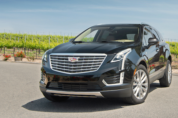 Cadillac XT5 USA April 2016. Picture courtest motortrend.com