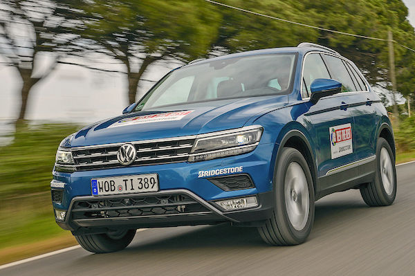 VW Tiguan Cyprus April 2016. Picture courtesy autobild.de