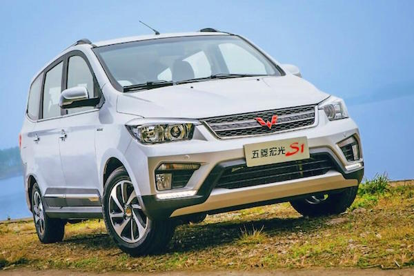 Wuling Hongguang S1 China April 2016. Picture courtsy autohome.com.cn